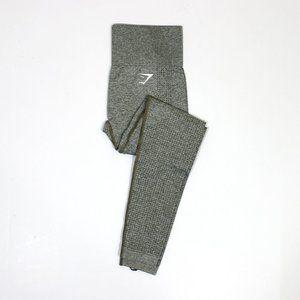 Gymshark Vital Seamless Legging Khaki Marl